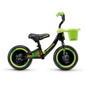 "s'cool pedeX 3in1 10"" Niños, negro/verde"